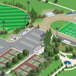 Merced College Campus Maps